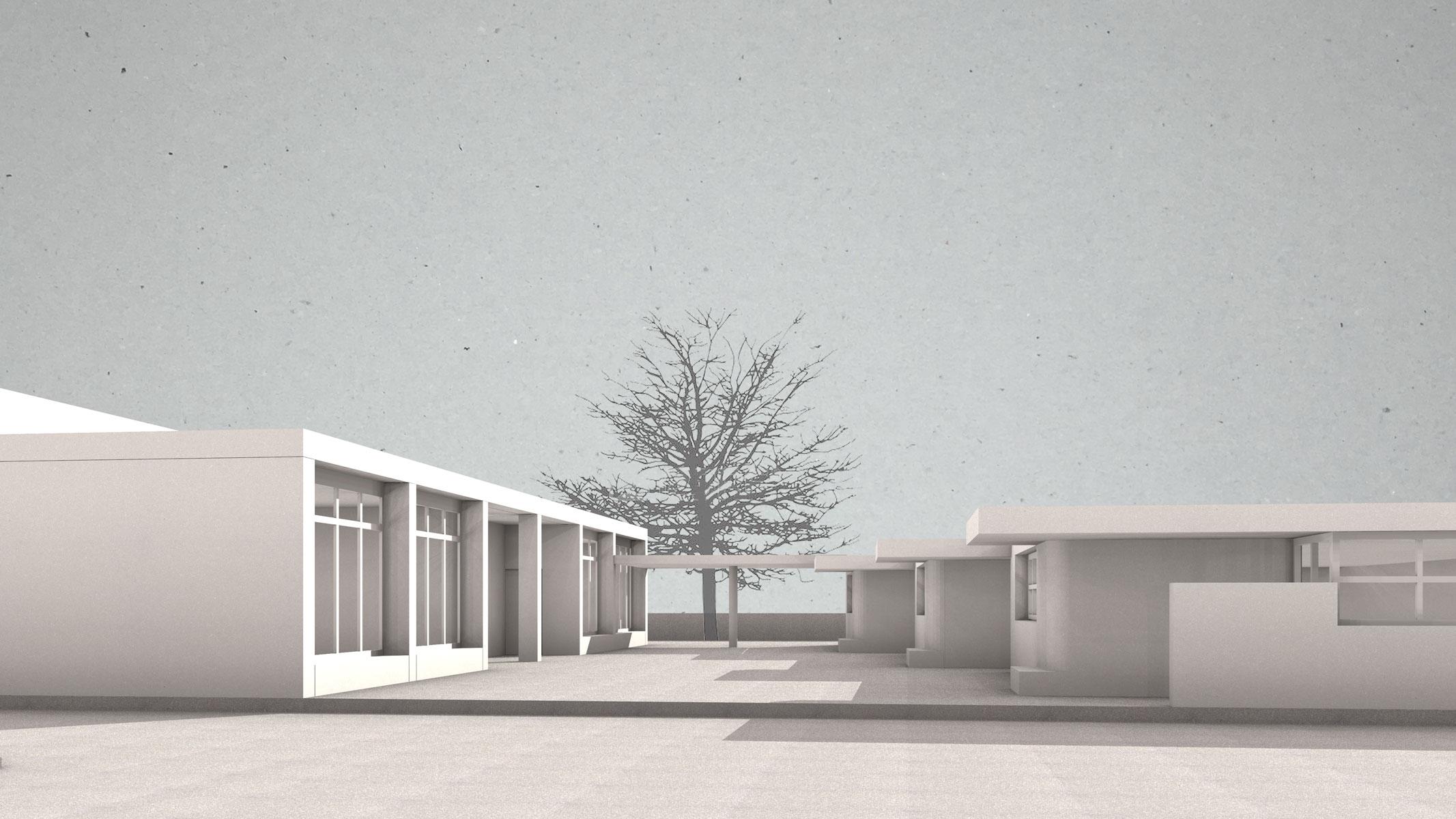 DetailsErweiterung Schulhaus Wiesenau, St. Margrethen Offener Wettbewerb  2017, 7. Preis